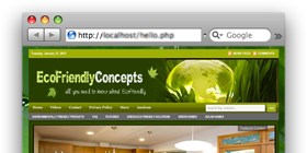 EcoFriendlyConcepts.com – echo products tips site design !
