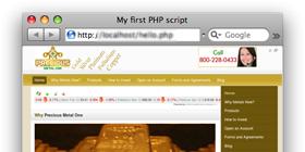PreciousMetalOne.com – Precious metals site design !