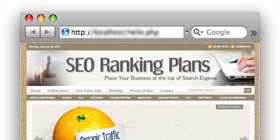 SeoRankingPlans.com – SEO tips site design !