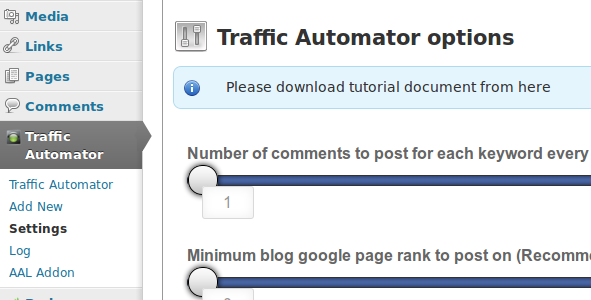 Traffic Autmator – WordPress Plugin | M Atef - Personal Blog