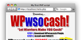 WSO Cash – WordPress Plugin !